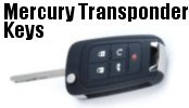 Mercury Transponder Keys